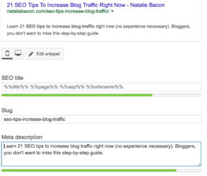 SEO Tips To Increase Blog Traffic Right Now