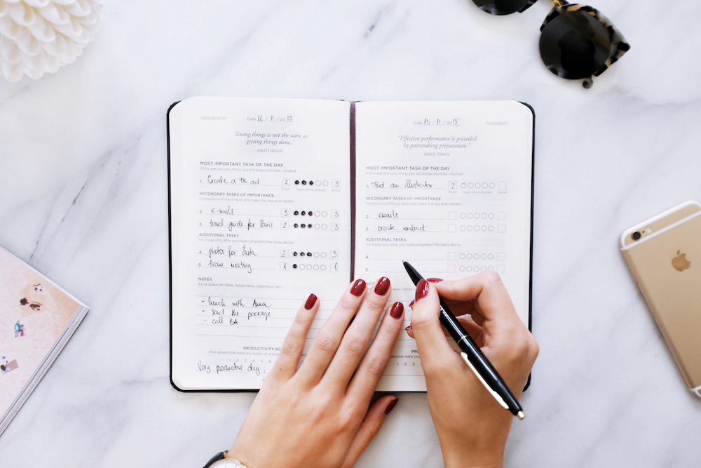 An Honest Review Of Amazing Journals Planners Natalie Bacon - Productivity planner review