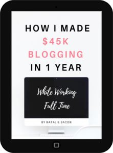How I Made 45k Blogging