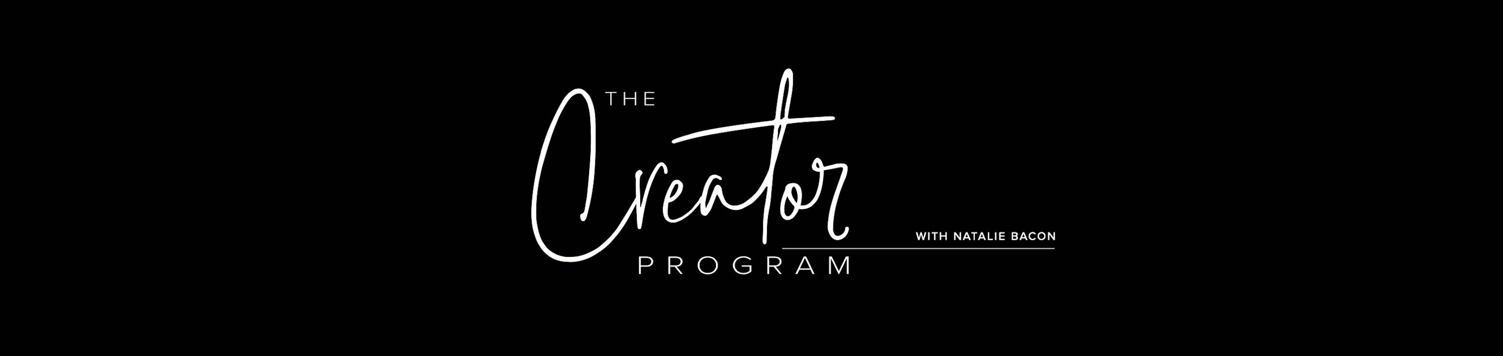 Creator Program Image